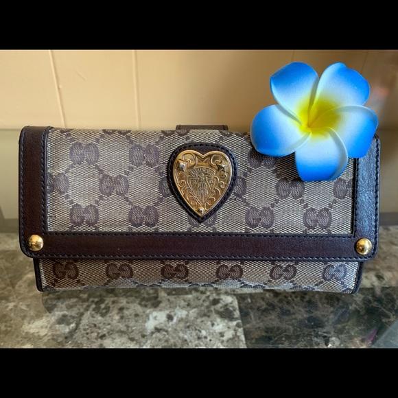 Gucci Handbags - ⚡️FLASH SALE⚡️AUTH GUCCI HYSTERIA WALLET🌸